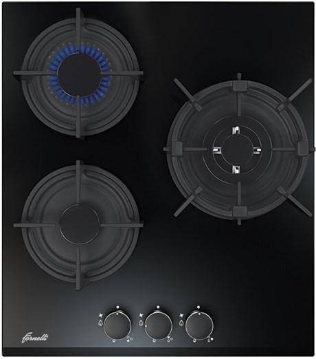 Газовая поврехность FORNELLI PGA 45 FIERO BL - фото 5715