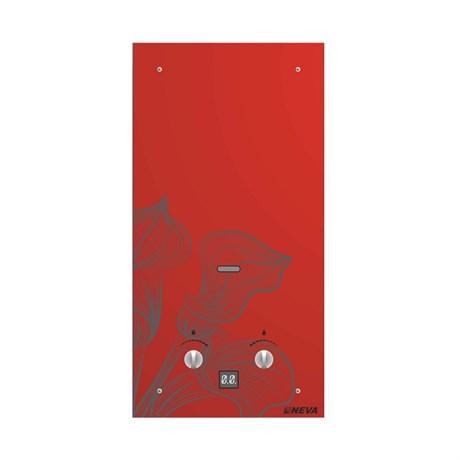 Газовая колонка NEVA - 4510 Glass (красный цветок) - фото 6615