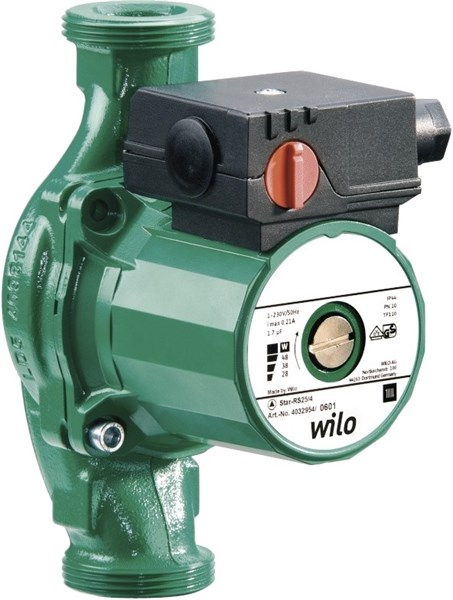 Циркуляционный насос WILO-STAR RS30/6 - фото 7150