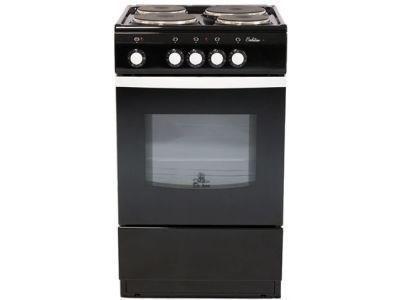 Электрическая плита De Luxe 5004.12э черная - фото 7777