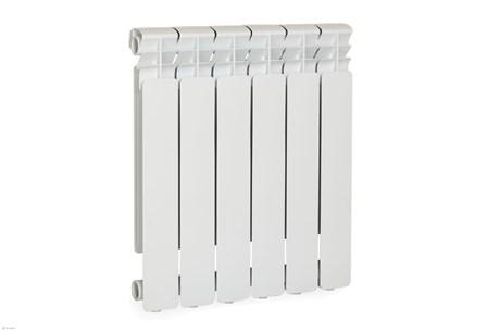 Радиатор алюминиевый Оазис премиум узкие   6 сек 500/80 - фото 9283