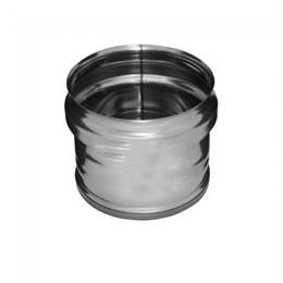 Заглушка внешняя д/трубы (430/0,5 мм) Ф115 (нижняя (уп. 10 шт)