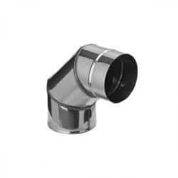 Колено угол 90° (430/0,5 мм) Ф125 (уп. 4 шт)