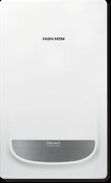 Настенный газовый котел Navien DELUXE S 35K COAXIAL)