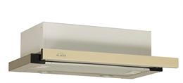 Выдвижной блок Интегра GLASS 45 нержавейка / стекло бежевое