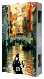 Газовая колонка Оазис Glass 20 TG (Венеция)
