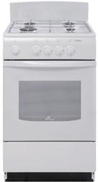 Газовая плита De Luxe 5040.38 щиток белая